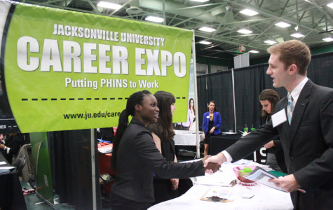 Students seek new opportunities at the 2014 Career Expo