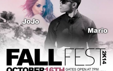 Fall Fest to Bring Artists JoJo, Mario
