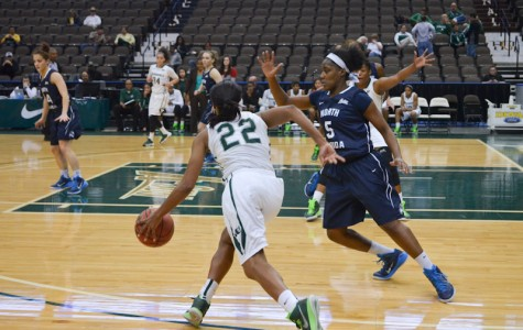 Lady Dolphins Beat UNF in a Nail-Biter