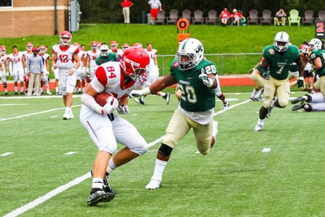 Lights Bring Added Dimension to JU Football