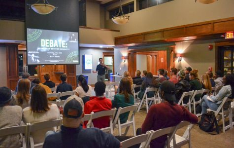 Ratio Christi Hosts First Debate Night at the River House