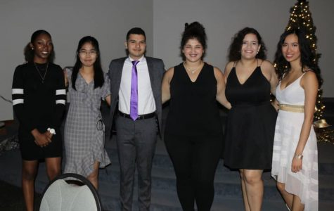 Newly elected executive board of the International Student Association.
