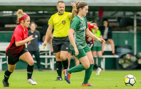 Women's soccer team keeps on kicking