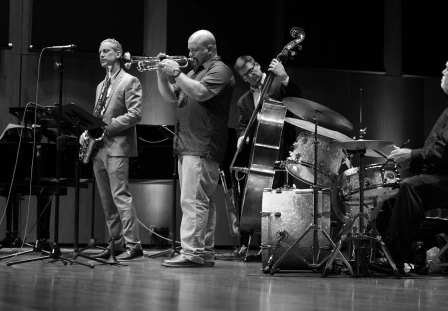 A night of jazz in Terry Concert Hall
