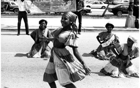 Haitian Ibo Club celebrated Black History Month in 1983.