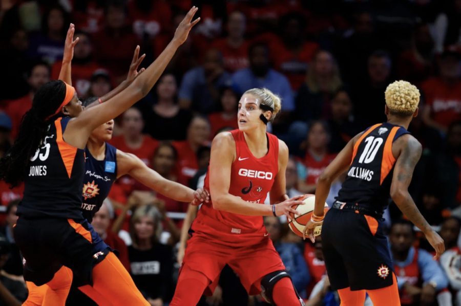 Elena Delle Donne, small forward/shooting guard, of the Washington Mystics in 2019