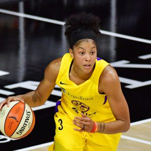 Candace Parker, WNBA Star. Photo Courtesy Getty Images