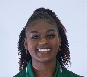 Shalah Smiling Brings Sunshine To The Track and Field